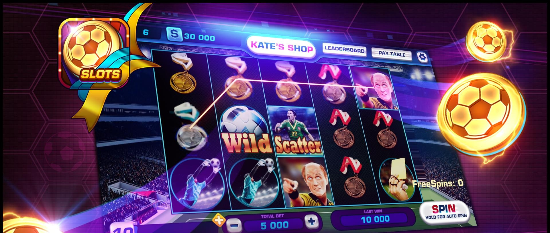 best football slots at Casino